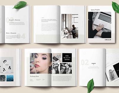 Simple Form / Agency Portfolio Template