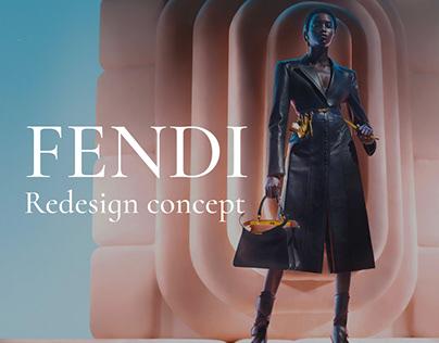 Fendi - Redesign Concept