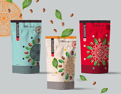 Design of packaging for coffee