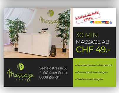 Spa flyer design.