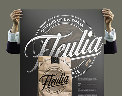 Visual identity Fleulia - Gebrand op uw smaak!