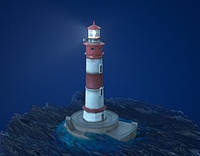 El Gordo Lighthouse - GTA V Fan Art