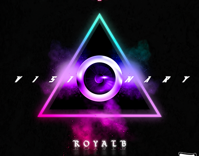 COVER ART /// VISIONARY - ROYAL B - @SONGARTWORK