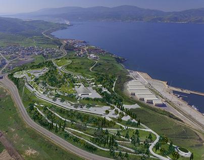 Bandirma Park - Carpet Hill Conceptual design