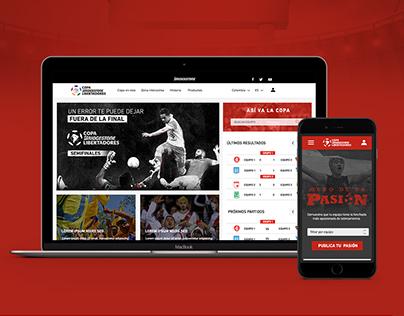 Site - Copa Bridgestone Libertadores 2016
