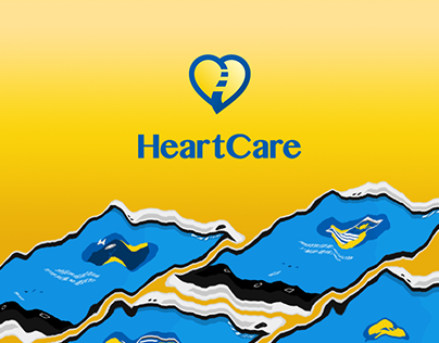 HeartCare App design