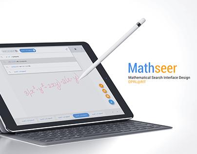 MathSeer- Mathmatic Search Interface Design
