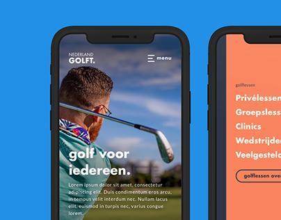 Nederland Golft Design System
