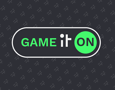 Game IT on - conference IT - logo project