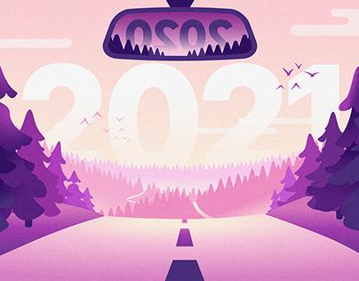 Chargemap's 2021 wishes artwork