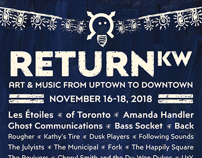 ReturnKW Festival Collateral