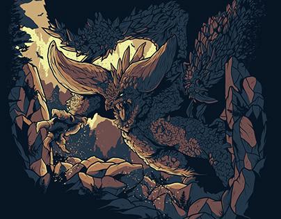 Monster Hunter World Nergiganti Commission