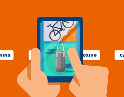 Share Fitness App Intro