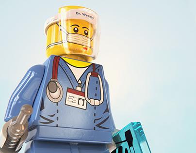 Lego Covid Fighter