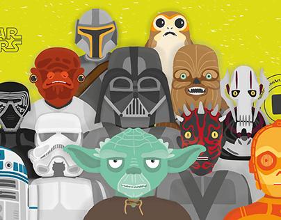 Star Wars, fan art.