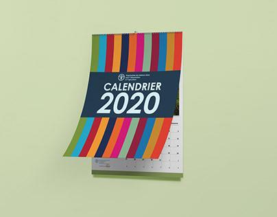 UN FAO 2020 Calendar