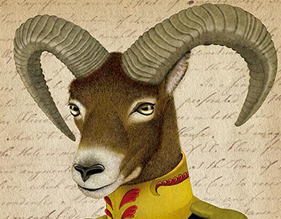 Malcom the mouflon / De sangre azul