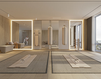 HOME WELLNESS STUDIO | CGI