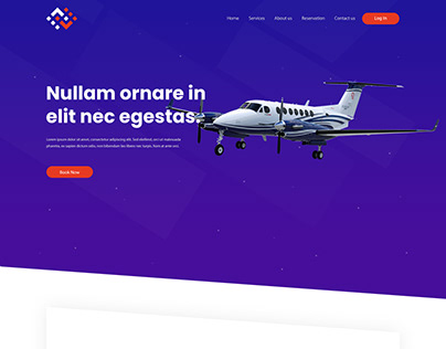 FBO - website landing page