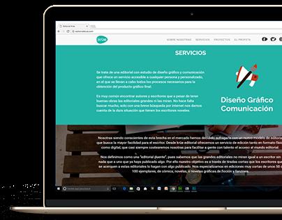 Diseño y Maquetación Web Editorial Küe
