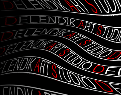 Типографика Kinetic Rave