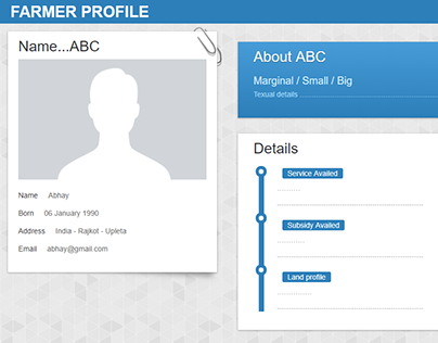 Profile Pages Templates UI Layout