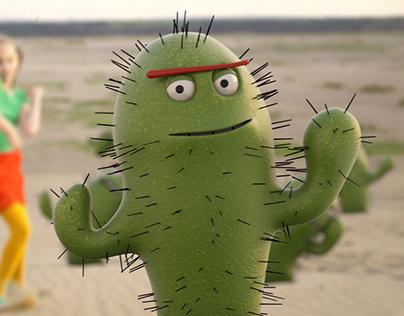 Kaktus - animacje 3D