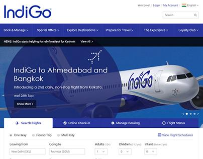 IndiGo Airlines Redesign Concept