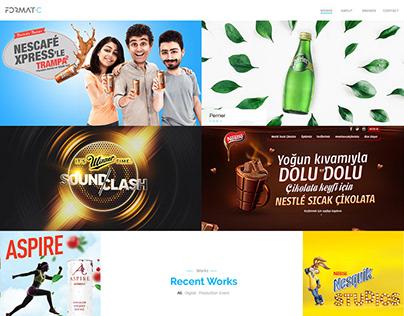 Creative Agency I Website