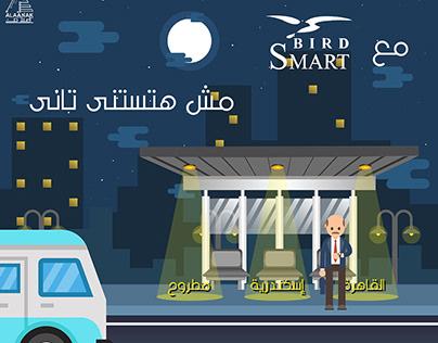Smart Bird | Transportation App | Motion Graphic & Ads