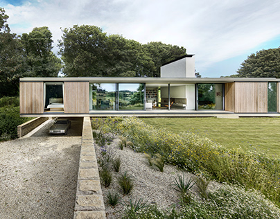 The Quest residence in Swanage, UK by Ström Architects
