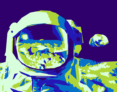 Paint by Numbers: Astronaut