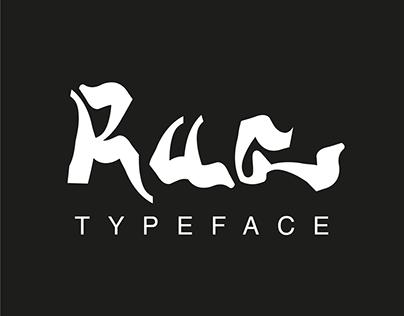 Rua - Typeface