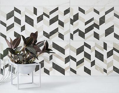 """Marmori"" porcelain tiles"