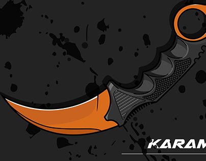 KARAMBIT(VECTOR ART)