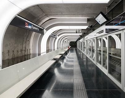 Foneria Metro Station, Barcelona