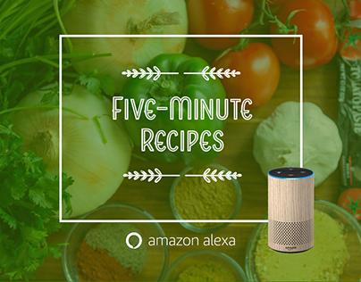 Five-Minute Recipes - VUI design process