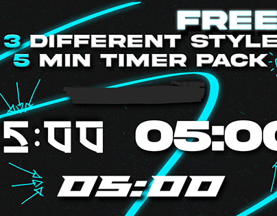 5 min countdown timer pack