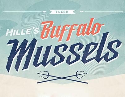 Hille's Buffalo Mussels