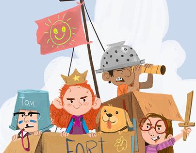 Cardboard Fortress