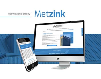 Strona internetowa dla Metzink