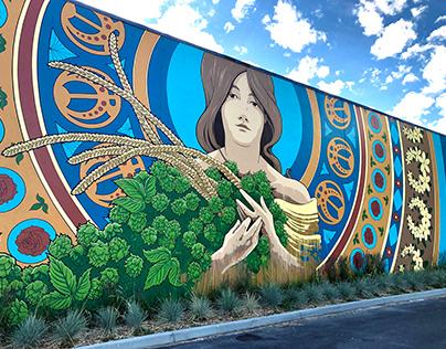Obec Brewing Mural