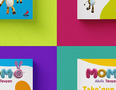 Children Book Cover Design | Momo
