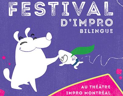 Mprov 2019 festival branding