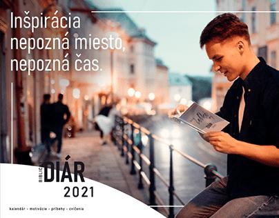 Biblický diár 2021 / Biblic diary 2021 - Banners