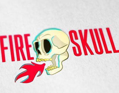 Desenhos para camisas da marca Fire Skull