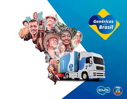 Genéricos pelo Brasil