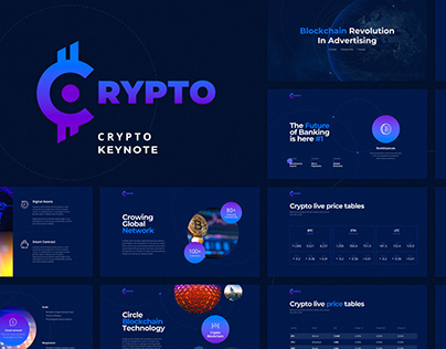 FREE Crypto Presenation Template