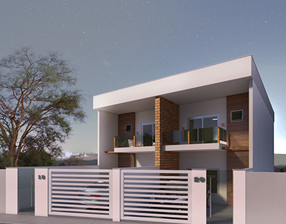 3D Projeto Arquitetônico em IRIRI-ES