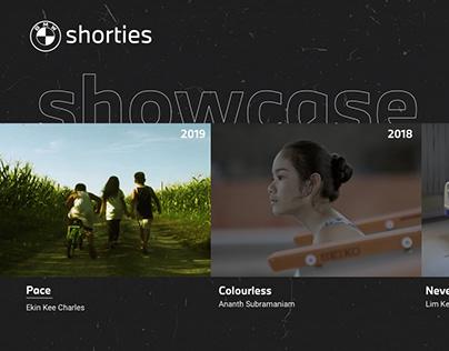 BMW Shorties 2020 Website
